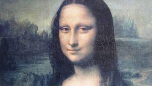 Mona Lisa luokan seinällä