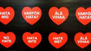 älä vihaa juliste