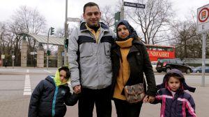 Luain perhe Saksassa turvassa