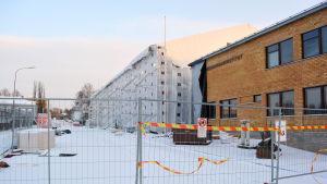 Lyceiparkens skola under tält