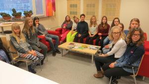 Årets unga konstutövare i Lovisa premierades