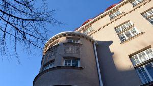 En del av en byggnad