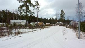 Tranbärsvägen i Gammelboda i Ekenäs.