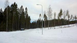 Granitgatan i Dönsby west i Karis.