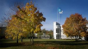 Ylen toimintakeskus Vaasassa.