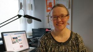 Församlingspastor Malena Björkgren i Åbo svenska församling