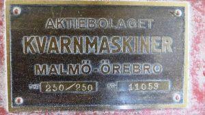 Strömsbergs kvarnmaskiner är tillverkade i Sverige