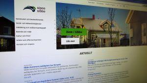 Sibbo kommun har fått en ny webbplats