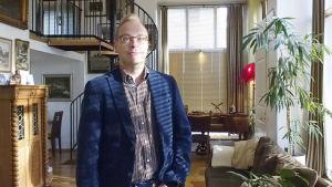 Juristen Joni Siikavirta jobbar med patientfrågor