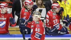 Teemu Ramstedt avgjorde för HIFK.