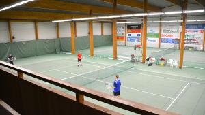 Borgå tennishall.