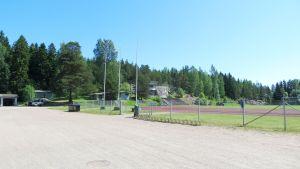 Idrottsplanen i Hammars, Borgå.