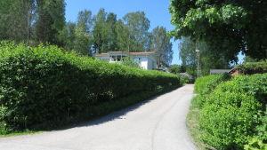 Kaunissaarivägen i Hammars, Borgå.