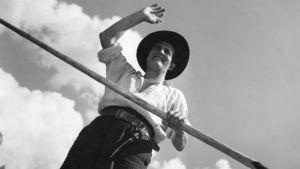 Tauno Palo Tukkijoella-elokuvassa (1951)