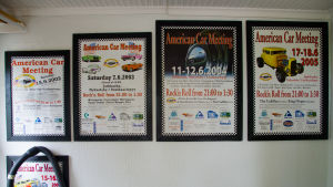 Affischer för American Car Meeting