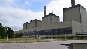 De fyra enheterna vid kolkraftverket i Ingå
