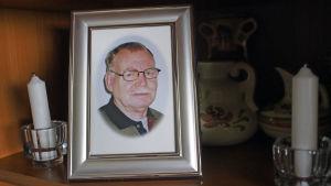 Bild av Kurt Eriksson som avled februari 2016.