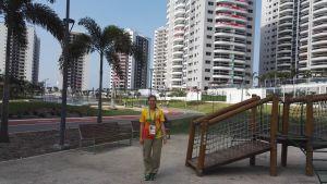 Sofia Forss på OS i Rio de Janeiro.
