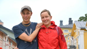 Christoffer och Kaisa Leka