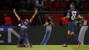 PSG:s brasilianska ytter Lucas har gjort två mål på de tre senaste ligamatcherna. I kväll väntar Arsenal i Champions League.