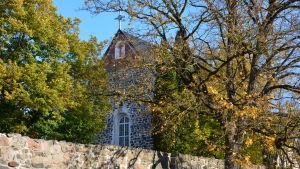 Pargas kyrka i oktober