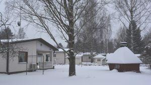 småhus i stadsdelen fredsby i lovisa