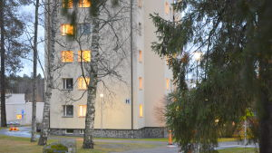 H-huset vid Vasa centralsjukhus.