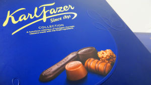 Karl Fazer Collection suklaakonvehtirasian kansi