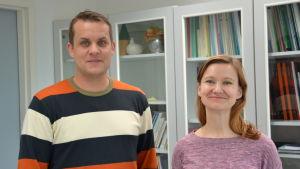 Jaakko Korpela och Terhi Pohjanheimo.