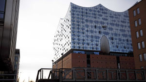 Hamburgs nya konserthus Elbphilharmonie