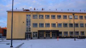 Novias och Vasa yrkeshögskolas vårdstuderande huserar nu i Alere på Brändö.
