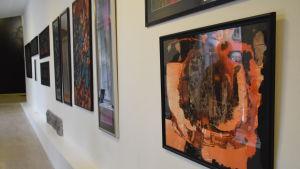 tavlor på utställning