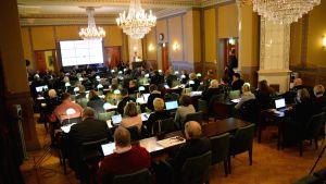 Borgå stadsfullmäktiges möte 13.02.17