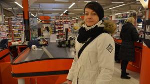 Lina Jern handlar mest nötkött och höna.