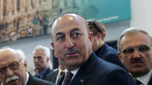 Turkiets utrikesminister Mevlut Cavusoglu.