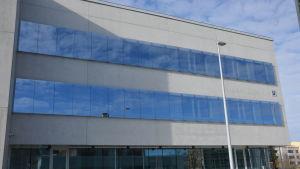 Den nya U-byggnaden vid Vasa centralsjukhus omfattar 7 000 kvadratmeter fördelade på fyra våningar.