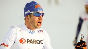 Lari Lehtonen vid Lahtis-VM.