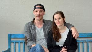 Olli Rahkonen och Anna Victoria Eriksson.