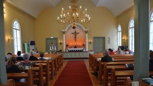 Sundom kyrka.