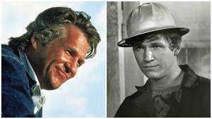 Jeff Bridges: sama roolihahmo elokuvissa Texasville (vas.) ja Viimeinen elokuva.