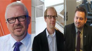 Ragnar Lundqvist, Otto Ilmonen, Christian Sjöstrand.