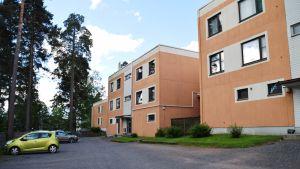 Bostadsområdet Jägarbacken i Ekenäs.
