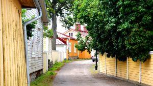 Gamla stan i Ekenäs.