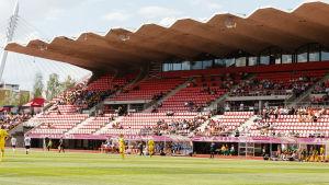 Ilves-Valencia på Ratina Stadion.
