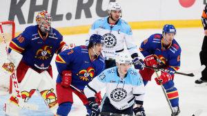 Jokerit mot Sibir Novosibirsk