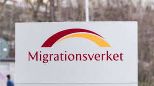 Migrationsverkets skylt
