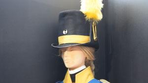 En docka som föreställer Gustaf Bogislaus von Platen