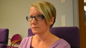 Leila Mattfolk är en av experterna i Språkväktarna och hennes specialområde är namn.