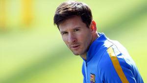 Lionel Messi är tillbaka i träning.