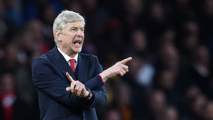 Arséne Wenger leder Arsenal i Champions League.